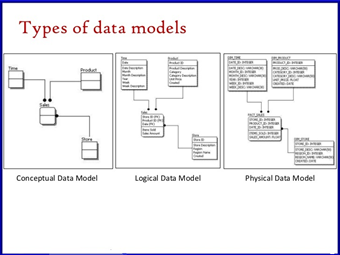 Type of data model